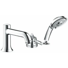Talis C Single Handle Roman Tub Faucet Trim with Hand Shower
