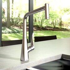 Metris HighArc Single Handle Kitchen Faucet with 2 Spray