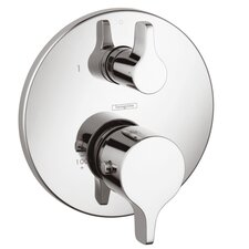 Thermostatic Volume Control Faucet Trim with Lever Handle