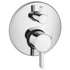 HG S Pressure Balance Diverter Faucet Trim with Lever Handle