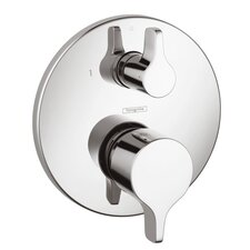 HG Metris E Pressure Balance Diverter Faucet Trim with Lever Handle
