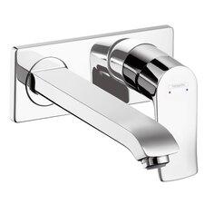 Metris Single Handle Wall Mounted Faucet Trim