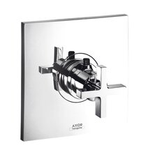 Axor Citterio Thermostatic Faucet Trim with Cross Handle