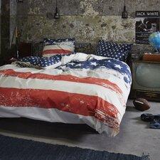 Bettwäsche-Set USA aus Baumwoll-Renforcé