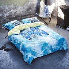 Bettwäsche-Set Surf aus 100% Baumwolle Renforce