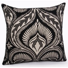 Citta Turin Flock Printed Pillow Cover