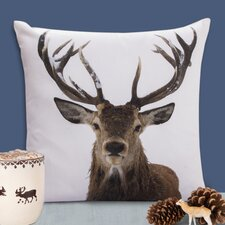 Stag Cotton Pillow Cover (Set of 2)