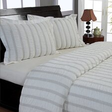Waves Seersucker Coverlet Set
