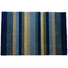 Tailored Horizon Stripe Area Rug