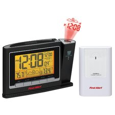 Radio Controlled Wireless Weather Station Projection Clock