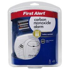 Battery Powered Carbon Monoxide Alarm