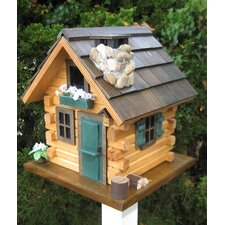 Cottage Charmer Series Country Comfort Freestanding Birdhouse