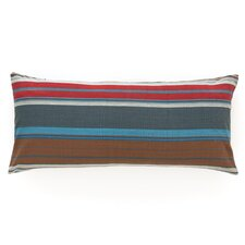 Chalet Stripe Cotton Boudoir/Breakfast Pillow