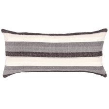 Montego Stripe Chenille Cotton Boudoir/Breakfast Pillow