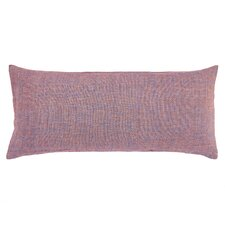 Spice Diamond Linen Boudoir/Breakfast Pillow