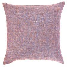 Spice Diamond Linen Throw Pillow