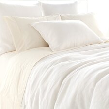 Stone Washed Linen Duvet Cover