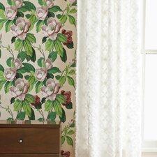 Candlewick Cotton Rod Pocket Single Curtain Panel