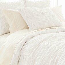 Smocked Cotton Duvet Cover
