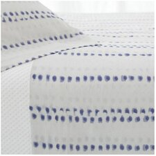 Ink Dots 200 Thread Count Cotton Sheet Set
