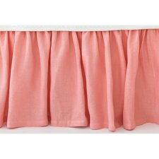 Stone Washed Paneled Bed Skirt
