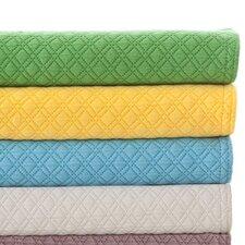 Diamond Matelasse Cotton Coverlet Collection
