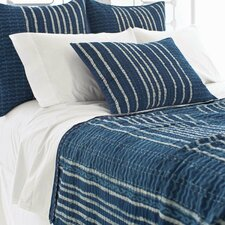 Resist Kantha Cotton Coverlet