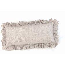 Chambray Savannah Linen Boudoir/Breakfast Pillow