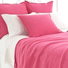 Diamond Matelasse Cotton Coverlet