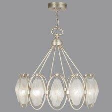 Quartz and Iron 12 Light Pendant