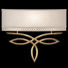 Allegretto Gold 1Light Wall Sconce