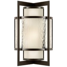 Singapore Moderne 2 Light Outdoor Sconce