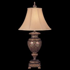 "Villa 1919 33"" H Table Lamp with Bell Shade"
