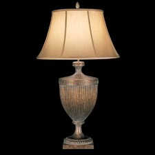 "Verona 36"" H Table Lamp with Bell Shade"