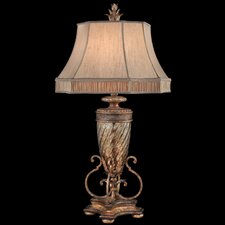 "Pastiche 40"" H Table Lamp with Bell Shade"