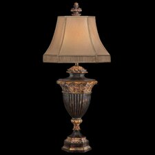 "Castile 40"" H Table Lamp with Bell Shade"