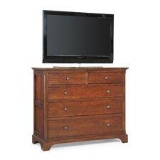 Retreat Cherry 4 Drawer Media Dresser