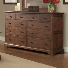 Retreat Cherry 9 Drawer Dresser