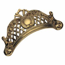 "Baroque Series 3 1/5"" Center Cup/Bin Pull"