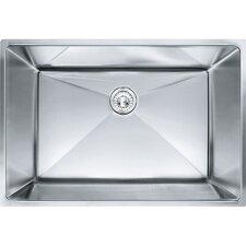 """Planar 8 29.5"""" x 18.5"""" Undermount Stainless Steel Single Bowl Kitchen Sink"""