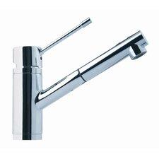 "9"" One Handle Single Hole Kitchen Faucet"