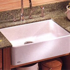 "Manor House 27.625"" X 19.75"" Fireclay Apron Front Kitchen Sink"