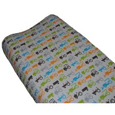 Tractor Trails Changing Pad Cover