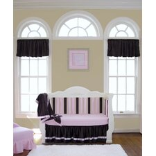 "54"" Chocolate Minky Curtain Valance"