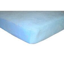Minky Flat Crib Sheet