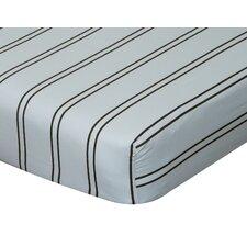 Baby Basics Striped Flat Crib Sheet