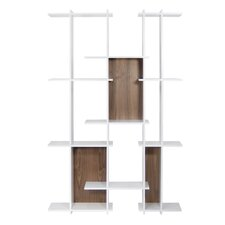 Puzzle Composition 2001-001 79'' Accent Shelves Bookcase