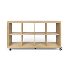 "Rolly 37"" Cube Unit Bookcase"
