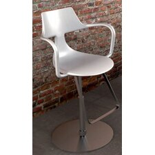 Rivet Shark Height-Adjustable Barstool