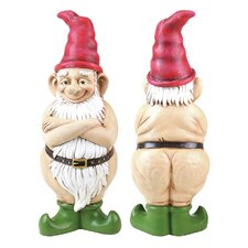 Naked Gnome Statue